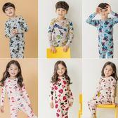 長袖套裝 韓版兒童純棉居家服修身版 W76026 AIB小舖