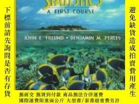二手書博民逛書店Statistics:罕見A First Course (7th