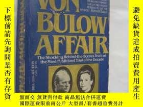 二手書博民逛書店The罕見Von bulow affair:the shocki
