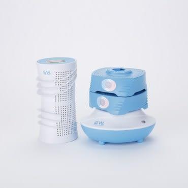 GW水玻璃直筒疊疊樂組合分離式除濕機