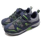 Merrell 戶外鞋 Trail Chaser 運動鞋 越野 登山 藍 灰 休閒鞋 女鞋 大童鞋【PUMP306】 MK261237