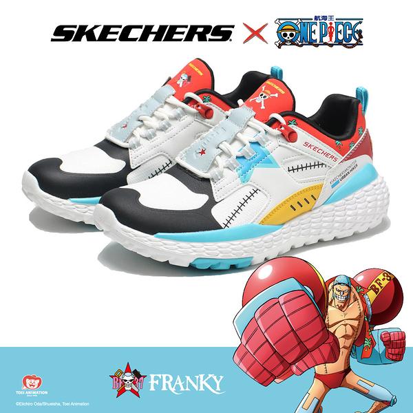 SKECHERS 休閒鞋 ONE PIECE 航海王 聯名款 佛朗基 MONSTER 老爹鞋 女 (布魯克林) 896040WMLT