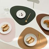北歐風皮革餐桌墊家用西餐墊防水防油隔熱墊創意碗墊子杯墊餐盤墊 艾瑞斯