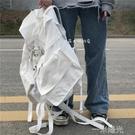 日韓ins超大容量戶外多功能後背包男女學生bf工裝風運動背包  一米陽光