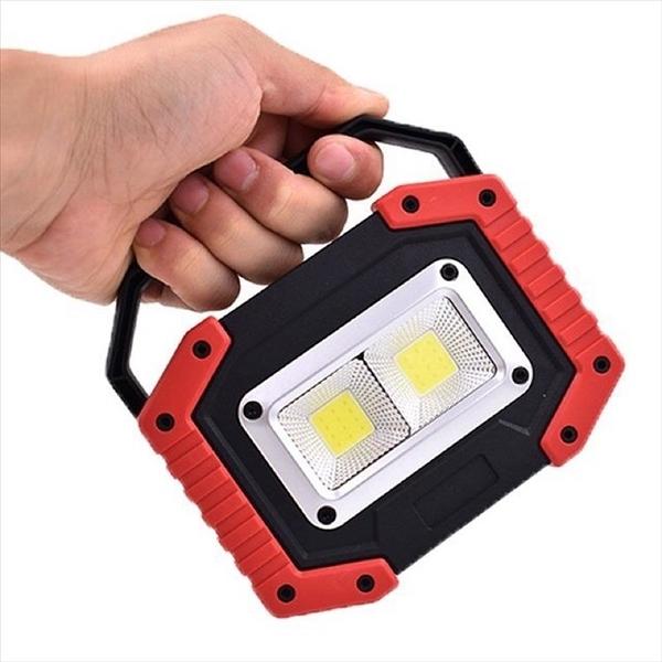 強強滾p-SuperB 探照燈、露營燈 二合一 行動充電器 隨身led燈 18650電池 手電筒