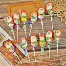 聖誕節手工造型棒棒糖(聖誕糖花Q皮棒) ...