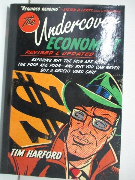 【書寶二手書T5/歷史_EHR】The Undercover Economist_Harford, Tim