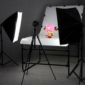 LED攝影棚燈套裝補光燈柔光箱攝影器材靜物拍照燈小型攝影燈【完美生活館】