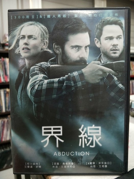 挖寶二手片-Z64-046-正版DVD-電影【界線】-愛曼達佩舒爾 尚恩艾希摩 麥洛文提米吉拉