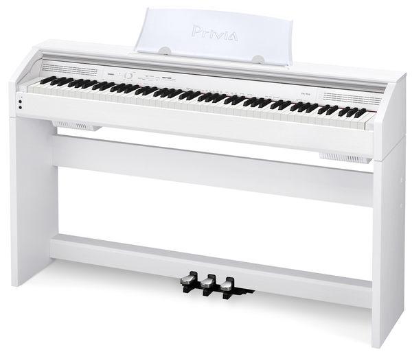 電鋼琴 Casio 卡西歐 PX-750 電鋼琴 白色 (附耳機.譜燈.保養油.拭琴布!)