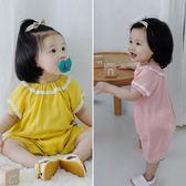 嬰兒連身衣寶寶哈衣服薄款01歲6-12個月新生兒童爬服潮 童趣潮品