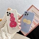 可愛水果表情 適用 iPhone12Pro 11 Max Mini Xr X Xs 7 8 plus 蘋果手機殼