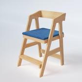 實木兒童升降椅學習椅學生椅子矯姿寫字椅餐凳百荷居升降調節椅 LX 交換禮物