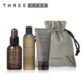 THREE 極致淨化豐盈髮絲組
