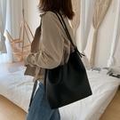 特賣 大包包女簡約單肩包大容量女包新款撞色高級感洋氣斜跨子母包