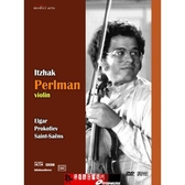 【停看聽音響唱片】【DVD】普羅高菲夫、艾爾加:小提琴協奏曲 - 帕爾曼演奏