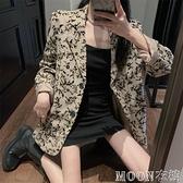 西裝外套女 復古網紅小西裝外套新款女氣質韓版寬鬆長袖西服上衣潮 快速出貨