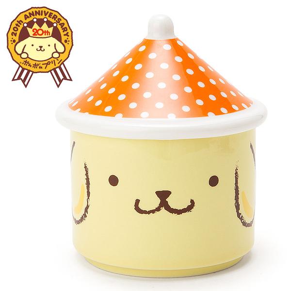 【震撼精品百貨】Pom Pom Purin 布丁狗~冬季20周年限定版-置物盒附蓋