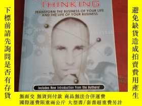 二手書博民逛書店The罕見power of impossible thinking:transform the business