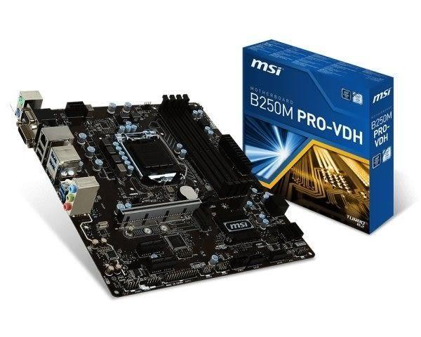 全新 微星B250M PRO-VDH Intel 1151主機板