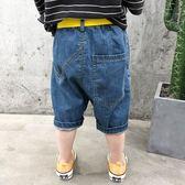 男童短褲夏外穿薄款寶寶牛仔褲男兒童潮童小童夏裝寬鬆男寶寶中褲【熱賣新品】