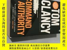 二手書博民逛書店tom罕見clancy command authorityY20