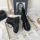 馬丁靴女夏季薄款2020年新透氣英倫風復古平底短靴子春秋機車單鞋
