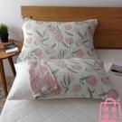 純棉紗布枕巾一對裝全棉加厚日式枕頭蓋巾情侶枕頭巾【匯美優品】
