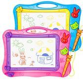 兒童畫板磁性彩色大號寫字板寶寶幼兒園涂鴉畫畫板家用畫寫板玩具【快速出貨八折優惠】