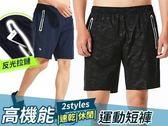高機能速乾休閒運動短褲