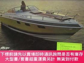 二手書博民逛書店大16橫開英文原版遊艇圖錄《AMF罕見Crestliner Boats》Y24992 AMF Powerboa