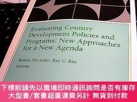 二手書博民逛書店Evaluating罕見Country Development Policies and Programs; Ne