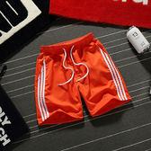 夏季三分褲男士3分休閒褲沙灘褲情侶短褲