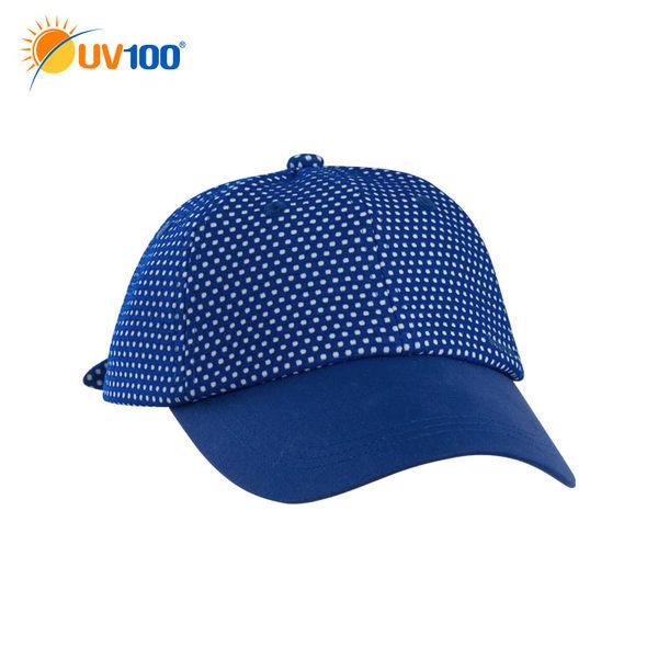 UV100 防曬 抗UV-甜美綁帶可調鴨舌帽-童