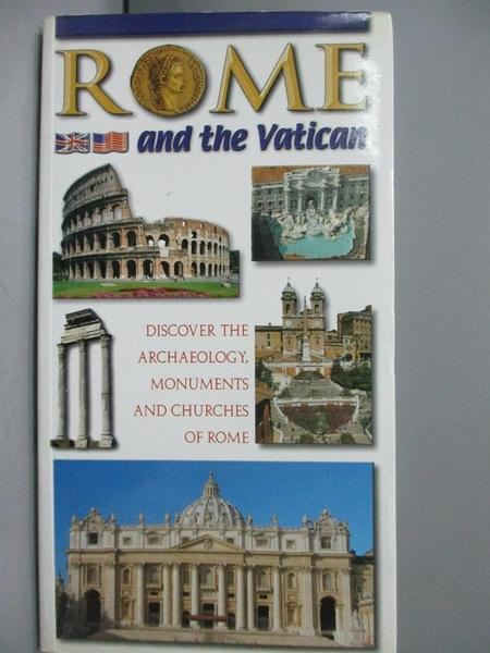 【書寶二手書T9/歷史_JIH】Rome and the Vatican. Discover…_Lozzi Roma