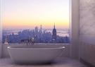 【麗室衛浴】BATHTUB WORLD YG6030 流線造形人造石獨立缸蛋殼系列 150.5*76*H51/53CM H-601