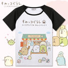 角落生物T恤二次元動漫周邊親子裝貓咪白熊...