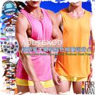 ADDTEXOD極簡風大開衩純色棉重訓背心 性感爆肌 猛男必備 MT0004