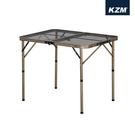 丹大戶外【KAZMI】 KZM 兩段式鋼網折疊桌含收納袋(鋼網系列)K9T3U001露營桌/鋼網桌