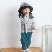 長袖連身衣 秋冬 趣味 小丑方領 男寶寶 女寶寶 爬服 哈衣 Augelute baby 60278