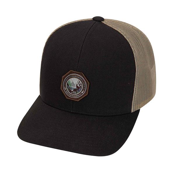 Hurley M PEND OLYMPIC PARK TRUCKER DARK GREY 棒球帽(男女)