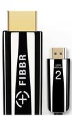 《名展影音》外盒簡潔優雅 FIBBR Pure系列真4K 鋼琴漆合金材質 5米 HDMI 2.0 增強版