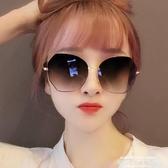 墨鏡2020年新款眼鏡女太陽鏡偏光墨鏡女大臉顯瘦圓臉網紅同款 萊俐亞