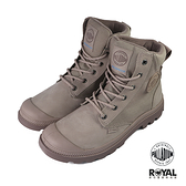 Palladium Pampa 玫瑰粉色 防水 軍靴 皮質 高筒 女款 NO.J0141【新竹皇家 73234-659】