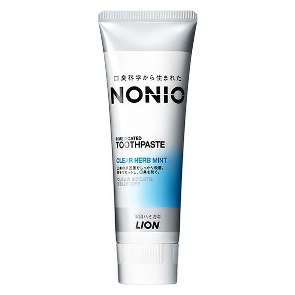 日本獅王LION NONIO終結口氣牙膏 130g 冰炫薄荷 (有效期限2022.7) *維康*