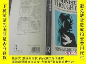 二手書博民逛書店FEMINIST罕見THOUGHT(女權主義思想)15586 具