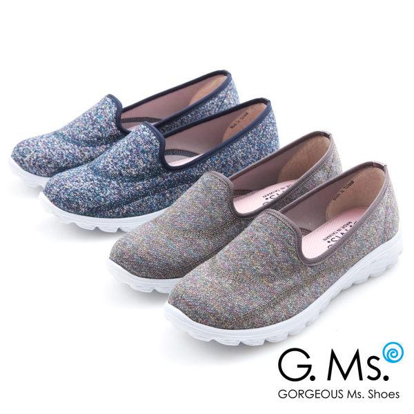 G.Ms. MIT極輕量系列-混彩針織記憶鞋墊休閒鞋*灰色