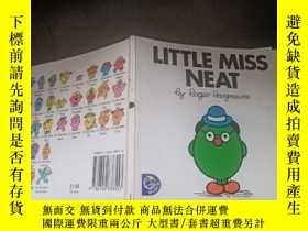 二手書博民逛書店little罕見miss neat :利特小姐3Y333530