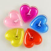 愛心蠟燭浪漫創意生日布置蠟燭無煙果凍心形蠟燭香薰蠟燭錶白求婚