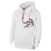 Nike Jumpman Holiday PO 男款 白色 刺繡 AJ1 長袖 帽T 連帽上衣 CT3458-100